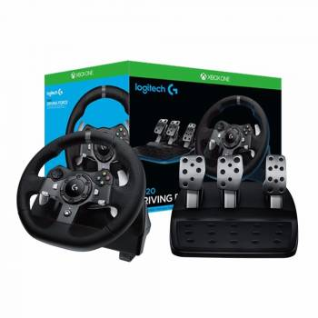 LOGITECH VOLANTE G920 XBOX ONE AND PC
