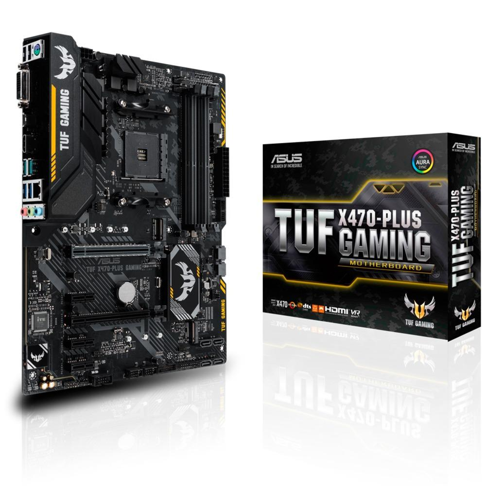 ASUS PLACA TUF X470-PLUS GAMING
