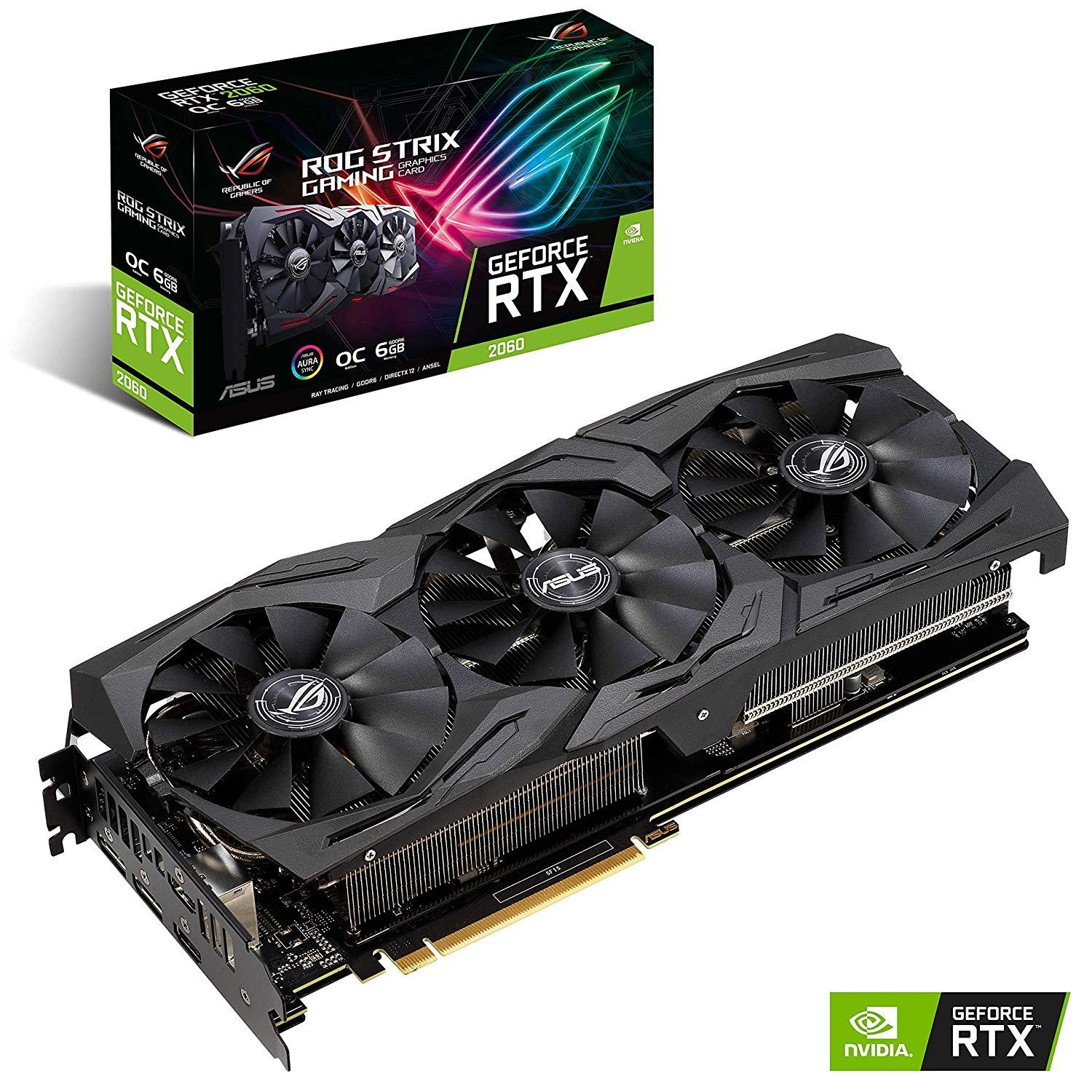 ASUS GEFORCE STRIX RTX 2060 - O6G GAMING