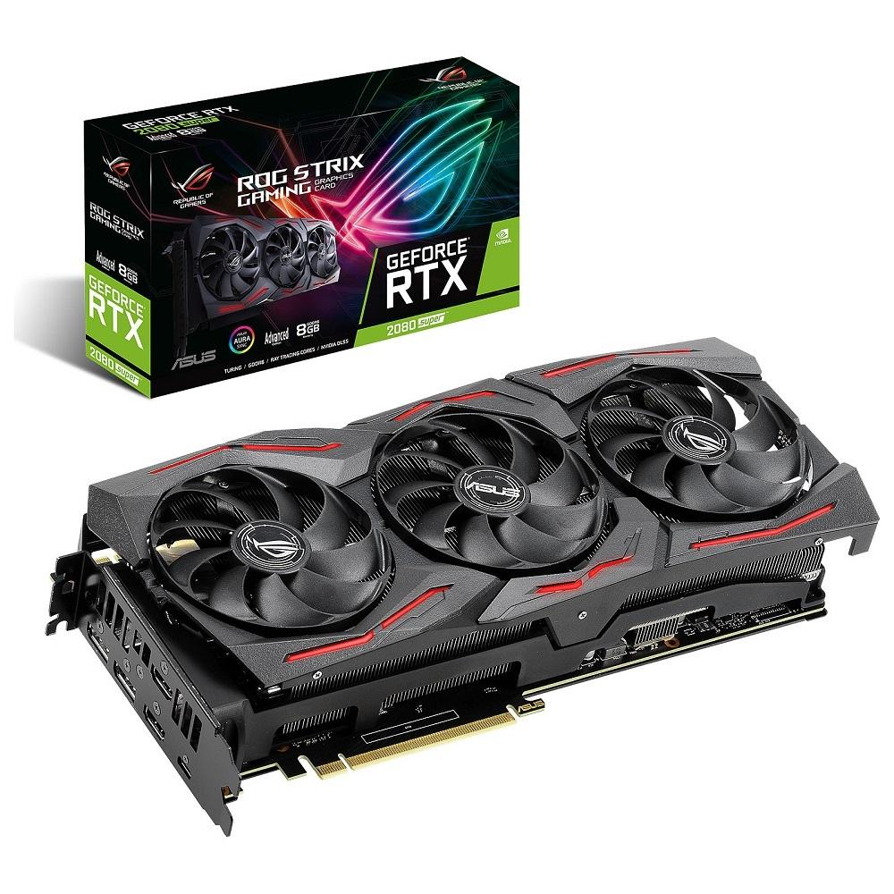ASUS GEFORCE SUPER ROG-STRIX-RTX2080S-A8G-GAMING