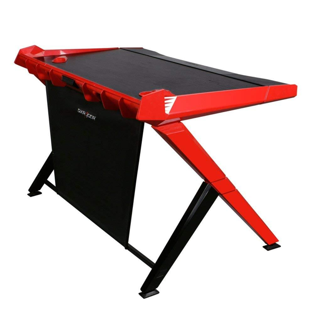 MESA DXRACER Gaming Desk  Black/Red GD/1000/NR