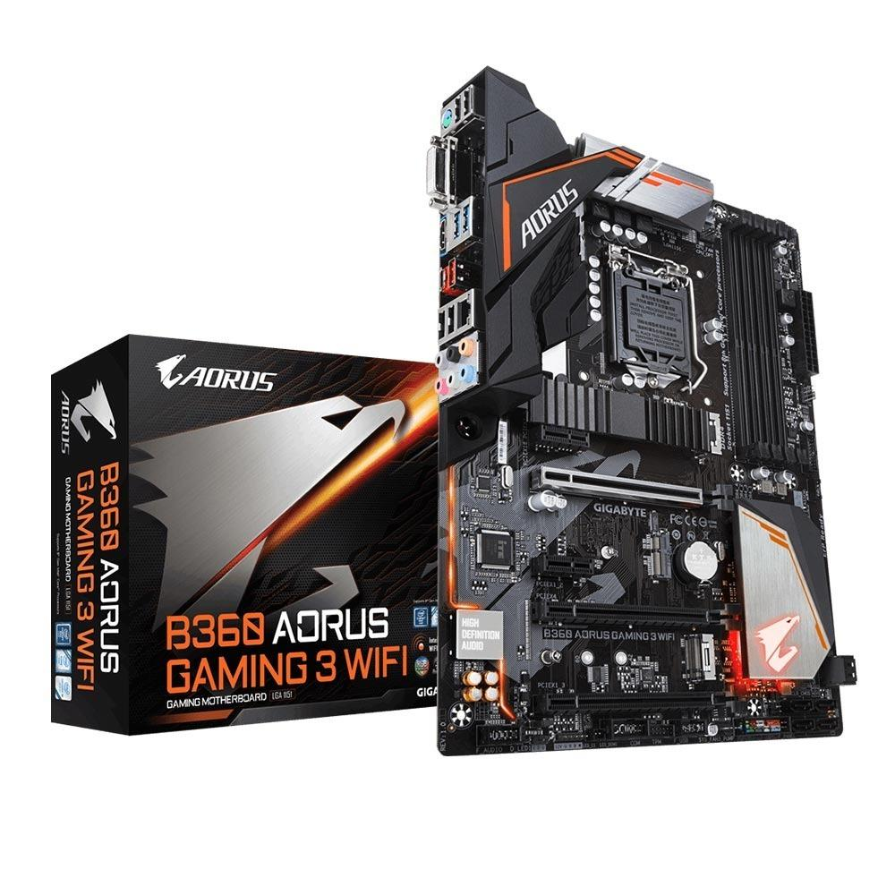 GIGABYTE PLACA B360 AORUS GAMING 3 WIFI