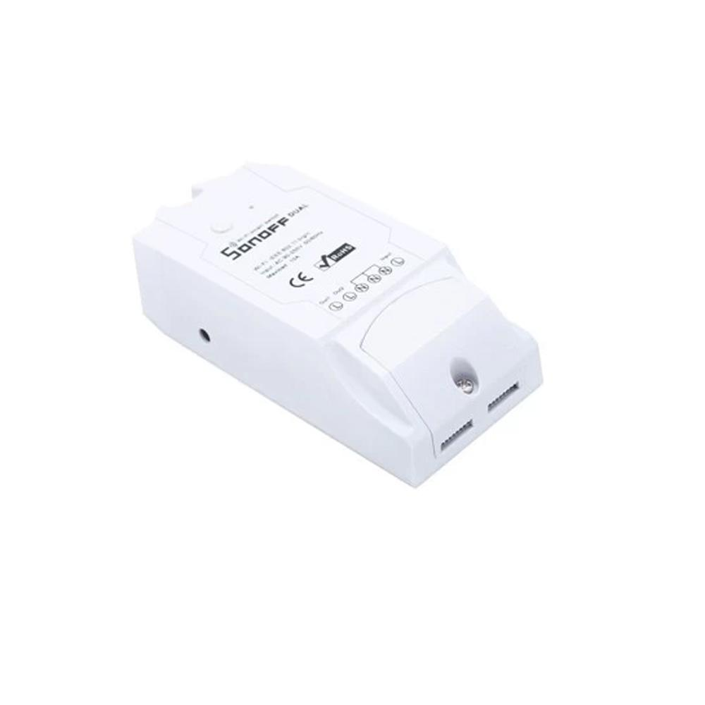 SONOFF SWITCH WIFI 2 CANALES 220VAC 10A IM160811001