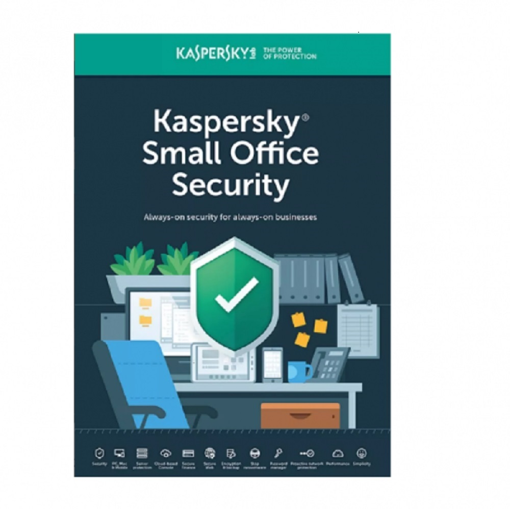 Kaspersky Small Office Security 10 Dispositivos 2 años